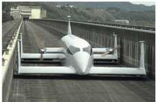 Levitating Public Vehicles - The Prototype Aero Train is Like a Real-Life Landspeeder