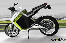 Mod Green Motorcycles - The Volti EV1 Motorbike Makes for a Zero-Emission Ride Effort-Free