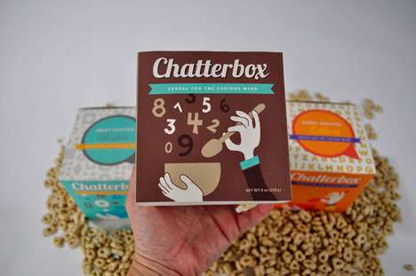 Chatterbox Cereal Packaging