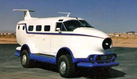Faux Flying Autos - The Airplane Car Will Guarantee a Fun Ride for All