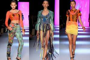 The Emma Mulholland SS11 Collection at RAFW is Culturally Psychedelic