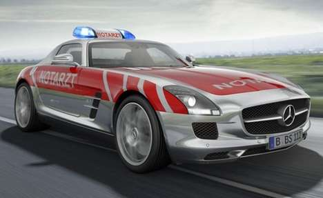 Mercedes Benz Emergency SLS AMG