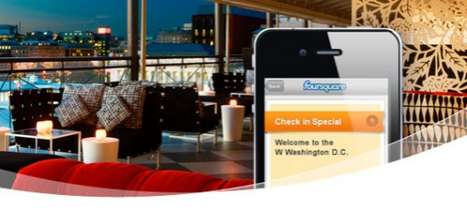 Social Media Loyalty Programs - The Starwood Hotels Foursquare Partnerships Help You Earn Points