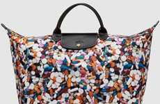 Pill-Patterned Purses
