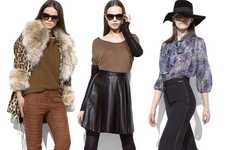 Edgy 70s Fashion - The Elizabeth and James Fall Line Features a Mishmash of Influences
