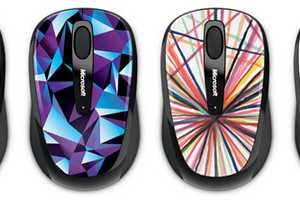 The Wireless Mobile Mouse 3500 Studio Series is Psychedelic