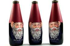 Garden Gnome Merchandizing - Norsk Ol Packaging Includes Fetching Folklore Refrences
