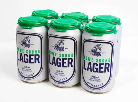 Howe Sound Lager Packaging