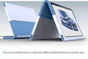 The Flex Tablet Bends but Doesn't Break