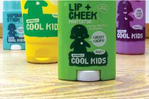 'Naturally Cool Kids' Packaging Surpasses its Competition