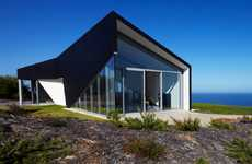 Origami Coastal Architecture - Scapehouse by Andrew Simpson Unfolds into the Landscape