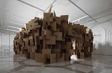 Clustered Cardboard Soundscapes
