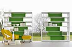 Asymmetrically Colorful Furniture