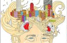 The AleXsandro Palombo Donald Trump Sketch Features Mega Mogul Updos