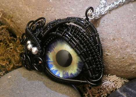 Eerie Glass Eye Jewelry
