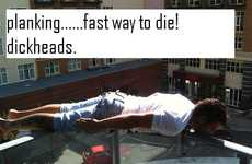 Lying Down Web Games - Planking is the Latest Internet Dare Craze