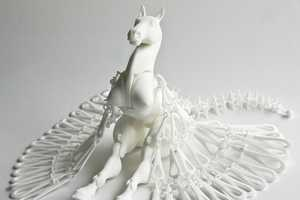 Michaella Van Vuuren's Horse and Springbuck Designs are Amazing