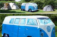 The VW Camper Van Tent Lets Forest Hippies Camp Out in Style