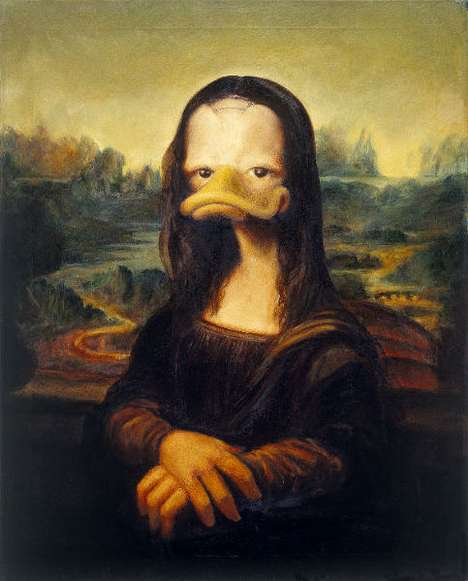 Deviant Duckified Masterpieces - Duckomenta Takes Great Pop Art and Gives It an Avian Twist