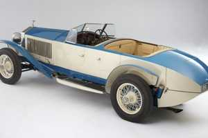 The 1926 Rolls Royce 10EX is a Historical Concept Car Up for Auction