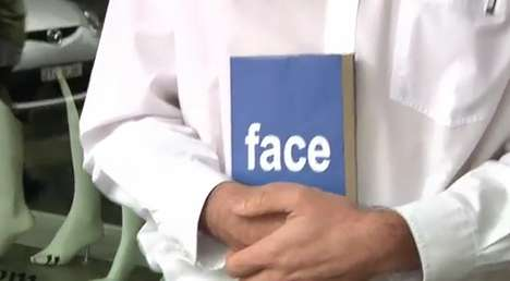 Social Media Mocking Videos - The Offline Social Network Video Pokes Fun at Facebook