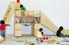 Hybrid Children's Furniture - The Casaurus by Koichiro Hoshino is Multifunctional