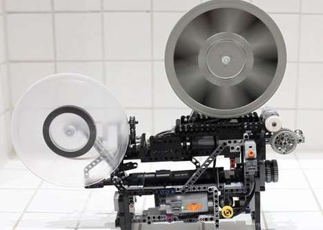 Lego Technic Super-8 Movie Projector