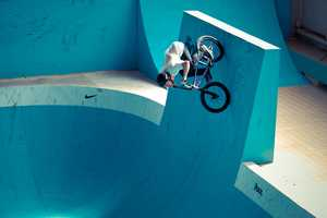 Nike 'The Pool' Converts Deserted Pool into Regulated BMX Facility