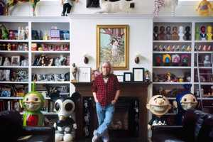 The Ron English Studio is a Monument to American Art