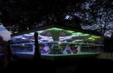 Psychedelic Temporary Pavilions