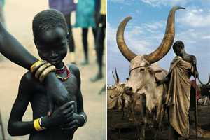 Carol Beckwith and Angela Fisher Explore the Cattle Farmers of Sudan