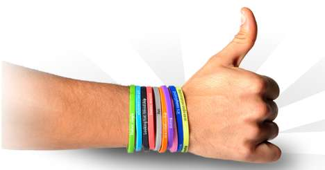 Status-Stating Jewelry - Wear Your Relationship Status on Your Wrist With Buump Band Bracelets