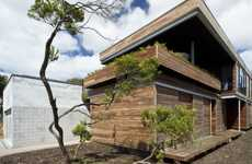 Natural Wooden Studios - The Architects Eat 'Linear House' is Australian Awesomeness
