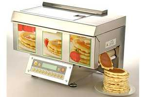 The Automatic Pancake Machine Will Solve Your Morning Woes