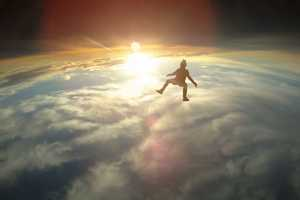 Betty Wants In's Skydive Video Shows Free Falling Floating Figures