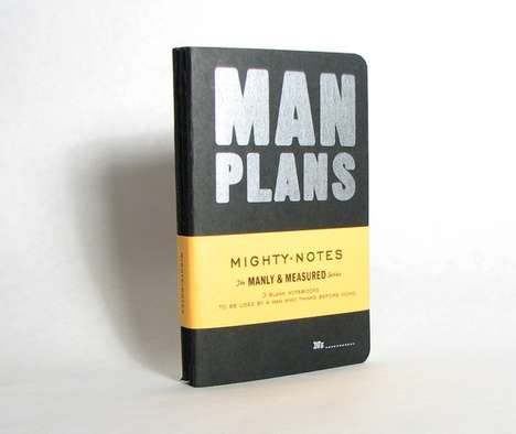 Manly Moleskines - Big and Mighty Makes Masculine Journals
