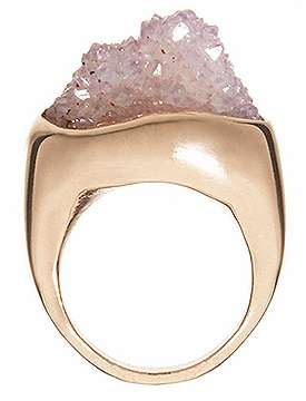 Jagged Edge Jewelry - Cosa Fina Jewelry's Raw Collection Literally Puts a Rock on Your Finger
