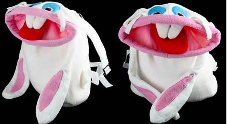 Buck-Teeth Backpacks - This White Rabbit Backpack Will Be Your New Favorite Pet