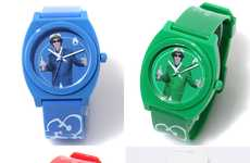 Funky Rapper Watches - Beastie Boys X Nixon Time Teller P Watch Fights For Your Right to Tell Time