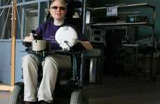Lulea University's Laser Wheelchair Scans to Improve Sight
