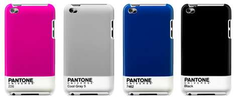 Color Chip Cases - The Pantone Universe iPod Touch by Case Scenario is Cute and Simple