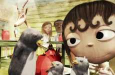 Fantasy Zoo Foodvertising - McDonald's Suzi Van Zoom is a Story of a Girl Who Loves Happy Meals