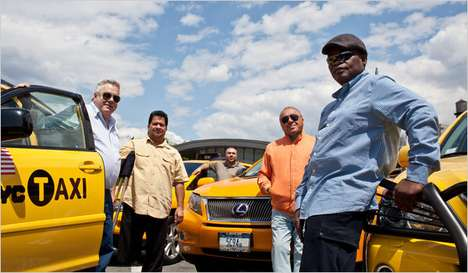 Luxury City Cabs - Six Lexus Taxicabs Join as the Elite Line of Cabs in New York City