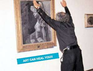 Medicinal Art Ministries - Alexander Melamid's Art Healing Ministry Uses Art as Therapy