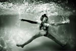 Underwater Splashes by Ilse Moore is Playfully Tempting