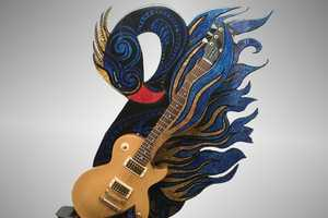 Axe Totem Will Turn Your Guitar into an Art Sculpture