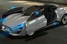 Retro Futuristic Roadsters