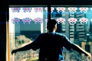 'Space Invaders in Real Life' Will Have You Grabbing Atari Controllers
