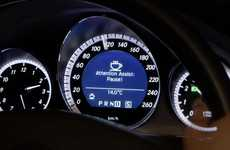 Energy-Detecting Auto Apps - The Mercedes Benz Attention Assist Feature is Safe for Sleepy Drivers