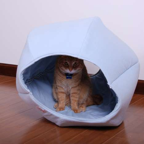Kitty Sleeping Spheres - The Cat Ball is a Cute and Comfy Bed for Your Pet